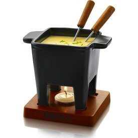 ボスカ チーズフォンデュ チョコレートフォンデュセット ブラック 四角 Boska Cheese Fondue set 85-35-30