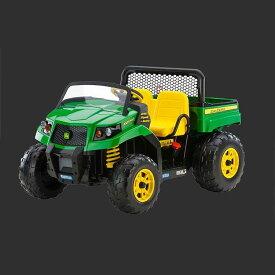 【組立要】 ペグペレゴ ジョンディア 子供用二人乗り電気自動車 ゲイター グリーン 対象年齢3〜8才 Peg Perego John Deere Gator XUV IGOD0063 Green