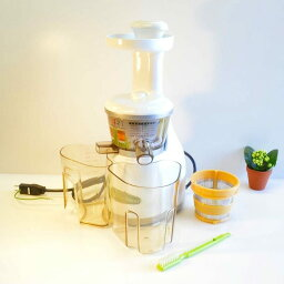 奥米伽扔掉榨汁機珍珠白Omega VRT330HD Heavy Duty Vert Juicer Pearl White