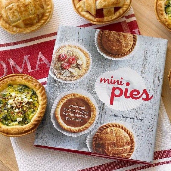 ブレビル パイメーカー BPI640XL 専用レシピ本 Mini Pies Cookbook 英文