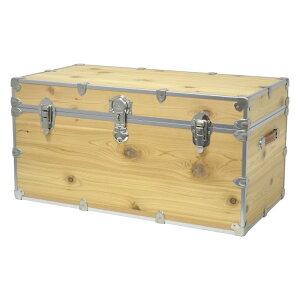 【代引不可】ライノー トランクケース 木箱 ミディアム Rhino Trunk and Case Medium