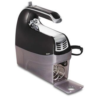漢密爾海濱用品手粉碎器6個階段速度調整Hamilton Beach 62622 6-Speed Hand Mixer with Snap-On Case