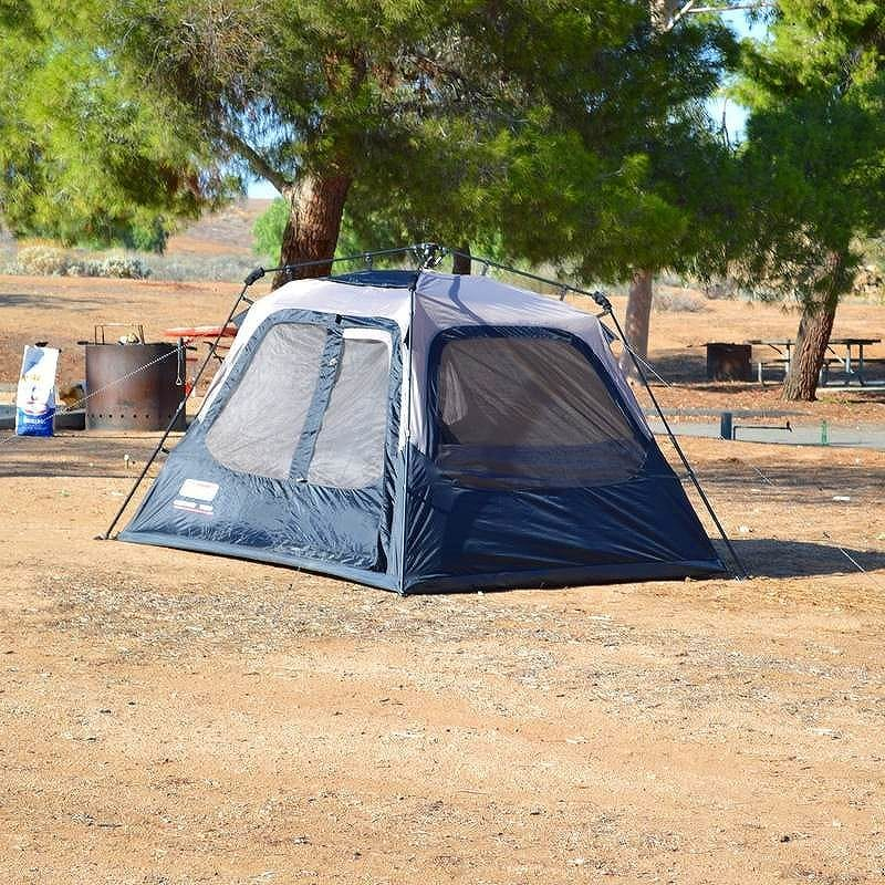 Coleman 4 person cleared for instant tent Assembly 3-5 minute Coleman 4-Person Instant Tent 2000010387 & Alphaespace Inc..   Rakuten Global Market: Coleman 4 person ...