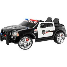 【組立要】キッドトラックス パトカー 電動自動車 12ボルト バッテリー付 対象年齢3〜7才 電気自動車 電動カー Kid Trax Dodge Pursuit Police Car 12-Volt Battery-Powered Ride-On