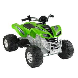 【組立要】フィッシャープライス パワーホイール カワサキKFX 電動自動車 12Vバッテリー付 電気自動車 電動カー Fisher-Price Power Wheels Kawasaki KFX 12-Volt Battery-Powered Ride-On