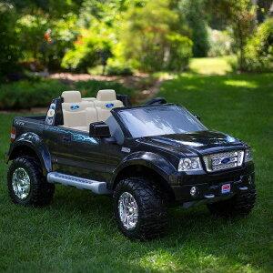 【組立要】フィッシャープライス パワーホイールブラックフォード 電動自動車 12Vバッテリー付 電気自動車 電動カー Fisher-Price Power Wheels Black Ford F150 12-Volt Battery-Powered Ride-On