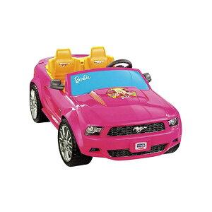 【組立要】フィッシャープライス パワーホイール バービーマスタング 電動自動車 12Vバッテリー付 電気自動車 電動カー Fisher-Price Power Wheels Barbie Mustang Ride-On