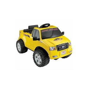 電動カー フィッシャープライスリル・フォードF-150 電動自動車 6Vバッテリー付 対象年齢2〜7才 電気自動車 電動カー Fisher-Price Power Wheels Lil' Ford F-150 6-Volt Battery-Powered Ride-On, Yellow