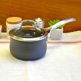 カルファロン 0.9L フタ付片手鍋 テフロン加工 フッ素樹脂 Calphalon Unison Sauce Pans 1Quart 1756062