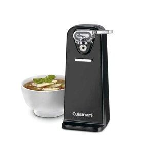 クイジナート デラックス電動缶切り ブラック Cuisinart CCO-50BKN Deluxe Electric Can Opener, Black 家電
