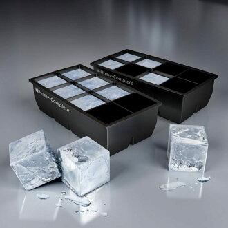 回家完成大冰多維資料集紙盒 2 包 (5 釐米正方形冰立方 x 16 Ko) 家完成大冰塊託盤-2 包-16 巨型 2 英寸冰多維資料集模具終身保證