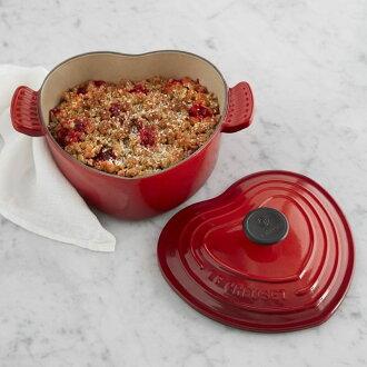 樂鍋荷蘭烤箱 Le Creuset Cast-Iron Heart-Shaped 荷蘭烤箱,2 qt 離散度。