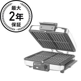 リバーシブル アメリカンワッフルメーカー 4枚焼&ホットプレート ブラック・アンド・デッカー 薄焼 プレート取り外し BLACK+DECKER 3-in-1 Waffle Maker with Nonstick Reversible Plates, Stainless Steel, G48TD ホットケーキミックス 家電