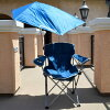 양산 된 접는의 자 선탠 방지 비치의 자 야외 페 스 운동 회 야영 Sun Protection Chair