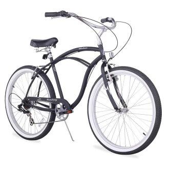 """海滩巡洋舰男式自行车 26 寸 7 速度 Firmstrong 城市人海滩巡洋舰自行车 26""""/ 7 速"""