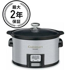 クイジナート スロークッカー Cuisinart PSC-350 3-1/2-Quart Programmable Slow Cooker 家電【日本語説明書付】