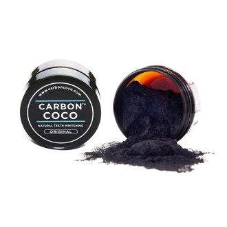 숯의 파워로 치아 화이트닝 탄소 코 코 유기농 치약 CARBON COCO ACTIVATED CHARCOAL TOOTH POLISH