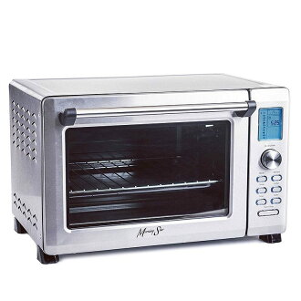 大容量kombekushontosutaobundejitaru Morning Star-Extra Large-12-Slice Countertop Digital Infrared Convection Toaster Oven,Stainless Steel