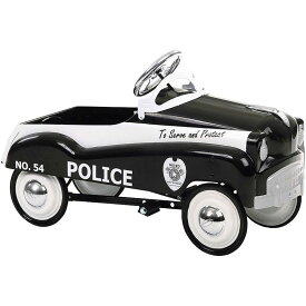 【組立要】乗用玩具 ヴィンテージ レトロ アンティーク 子供用 ポリス 警察 ペダルカー 3才〜 InStep Police Pedal Car カリフォルニア 西海岸
