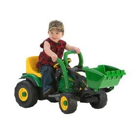 乗用玩具 ペグペレーゴ ジョン ディーア ローダー 子供用電気自動車 Peg Perego John Deere Mini Power Loader
