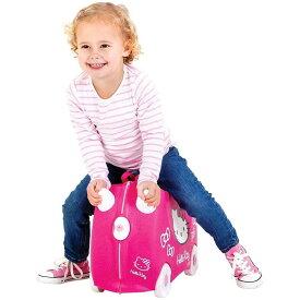 トランキ 子供用スーツケース ハローキティー ピンク 乗って遊べる 座れる 機内持ち込み おもちゃ箱 Trunki: The Original Ride-On Suitcase NEW, Hello Kitty (Pink)