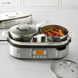 蒸し器 調理家電 スチーマー キッチン家電 ブレビル スチームクッカー スチーマー ステンレス BPAフリー Breville Steam Zone BFS800BSS 家電