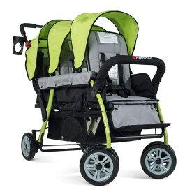 三つ子 ベビーカー 乳母車 ストローラー Foundations Trio Sport Tandem Stroller