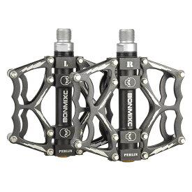 自転車用ペダル アルミ製 マウンテンバイク ロードバイク BMX シクロクロス BONMIXC Bike Pedals 9/16 Cycling Sealed Bearing Bicycle Pedals