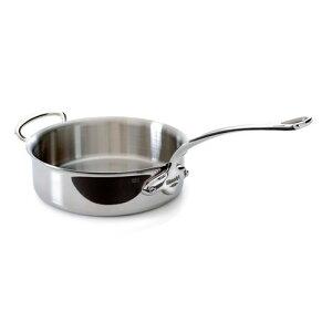 ムヴィエール モービル ソテーパン 24cm 3.1L ステンレス 5層 IH対応 ムビエル モビエル モヴィエル フランス Mauviel 5211.24 M'cook Saute pan