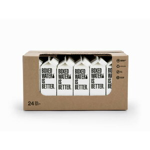 紙パック 飲料水 500ml 24本入 リサイクル可能 500ML BOXED WATER