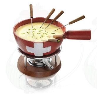 ボスカ 火锅设置巧克力火锅瑞士 Boska 奶酪火锅集瑞 85-35-20