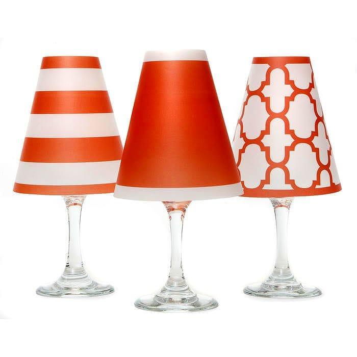 ディポッター ワイングラスシェードナンタケット トリオ - フィエスタ・オレンジ 6点セットdi Potter Wine shades Nantucket Trio - Fiesta Orange【smtbv-k】