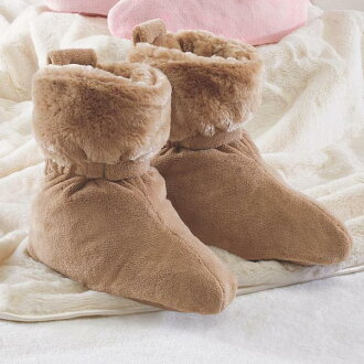 납락스훗트콘포트 있었는지 실내 방용 부츠 nap Luxe Foot Comforters Cocoa