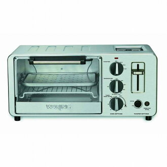 ワーリング 오븐 토스터 Waring WTO150 4-Slice Toaster Oven with Built-In 2-Slice Toaster