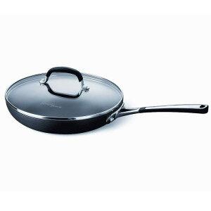 カルファロン 直径30cm フタ付フライパン PFOAフリー Simply Calphalon 12-Inch Nonstick Covered Omelette Pan 1774663
