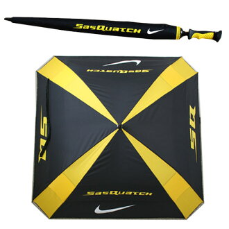 NIKE Nike SQ square umbrella 62 inches N90870Yep_100