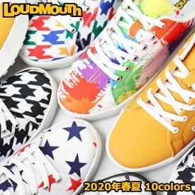 ラウドマウス メンズ レディース スパイクレス ゴルフ シューズ カジュアル キャンバス地 Loudmouth LM-GS0002 / (普段履きにもおすすめ!)
