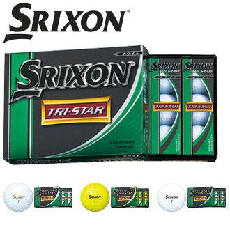 1 dozen Srixon TRI-STAR / TriStar golf balls 12 PCs Japan Eagle