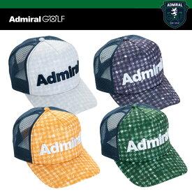 アドミラル ゴルフ メンズ ギンガムリーフ メッシュ キャップ ADMB 912F ADMIRAL GOLF