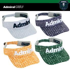 アドミラル ゴルフ メンズ ギンガムリーフ バイザー ADMB 913F ADMIRAL GOLF