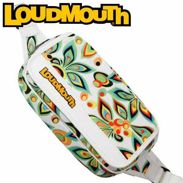 ラウドマウス ゴルフ ショルダーポーチ LM-SP0001 (003 シャガデリック ホワイト) / LOUDMOUTH GOLF SHOULDER POUCH / 003 SHAGADELIC WHITE メンズ レディース