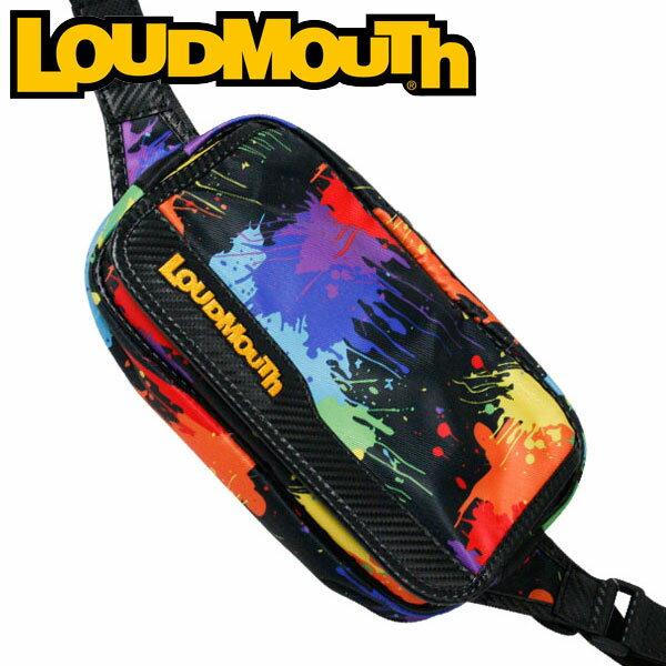 ラウドマウス ゴルフ ショルダーポーチ LM-SP0001 (011 ペイントボールズ) / LOUDMOUTH GOLF SHOULDER POUCH / 011 PAINT BALLS メンズ レディース