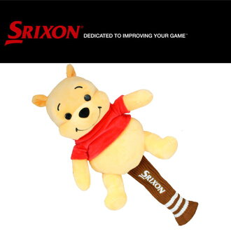 Head cover / Walt Disney Winnie-the-Pooh for the ダンロップスリクソンゴルフ driver for 460cc