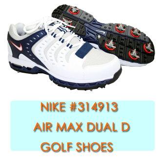 724e86f8639d37 ... USA model ☆ Nike NIKE AIR MAX DUAL D ( 314913) golf shoes Yep 100 . ...