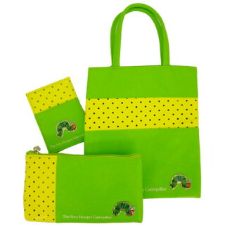 ●532 starving green caterpillar outing sets (green)