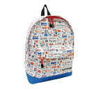 4289793bb6b1 OUTDOOR X Hello Kitty ○ Backpack M (Retro baking pattern   white) ☆ outdoor  products ☆ collaboration bag ☆ 170214
