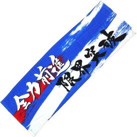 熱血応援7 スポーツタオル(全力前進/BLUE) [422069]