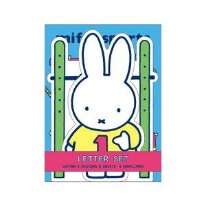 ミッフィー ダイカット カードレター(青)★miffy sports★ [044390]