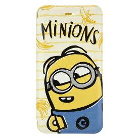881e69343d ミニオンズ グッズ NEW iPhone FULL DISPLAY MODEL対応フリップカバー バナナ 怪盗グルー 899051