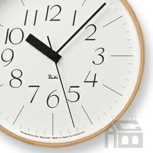 【OFFクーポンあり】【ポイント最大16倍!】Lemnos Riki Clock レムノス リキ クロック RC WR07-10 WH 電波時計 掛け時計/かけ時計